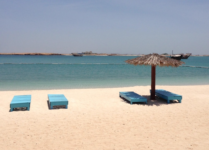 Plage Turtle Resort Ras al Hadd