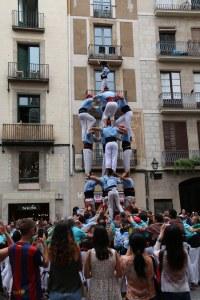 voir des castellers à Barcelone Petits Globetrotteurs