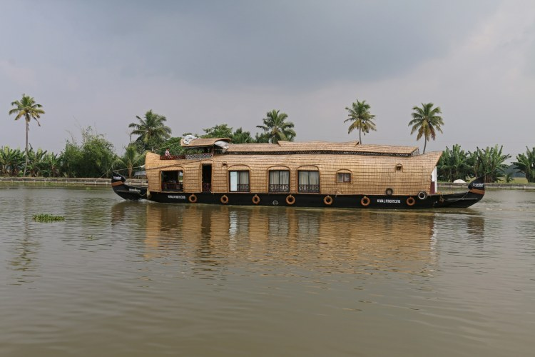 houseboat au kerala départ alleppey