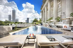 hôtel fullerton singapour pour staycation