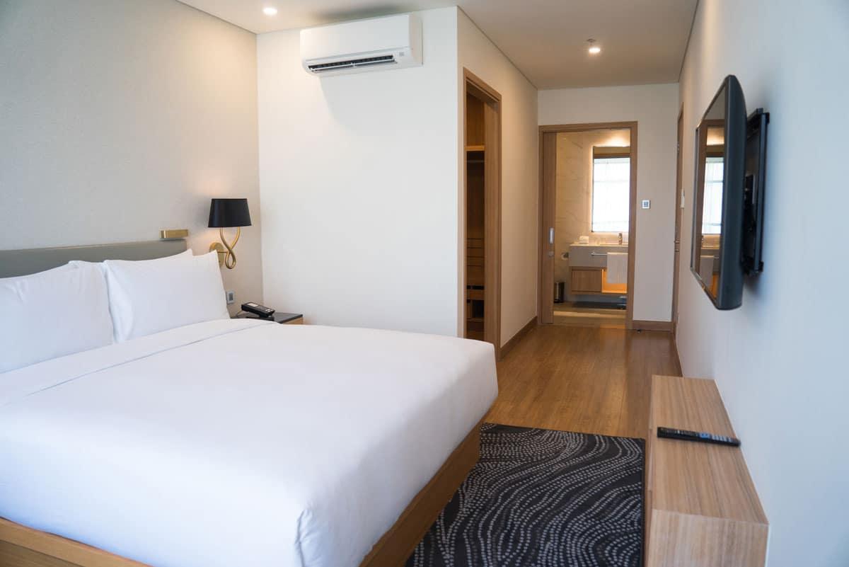 configuration chambre hotel