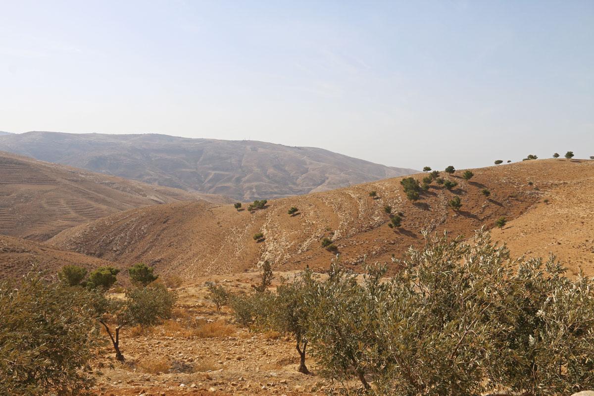jordanie en famille mont nebo