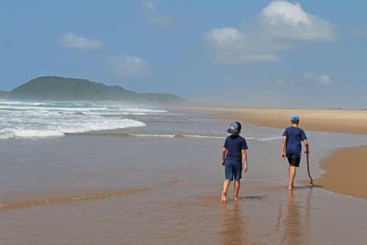 plage st lucia afrique du sud en famille