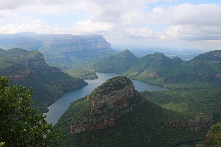 afrique du sud three rondavels blyde river canyon