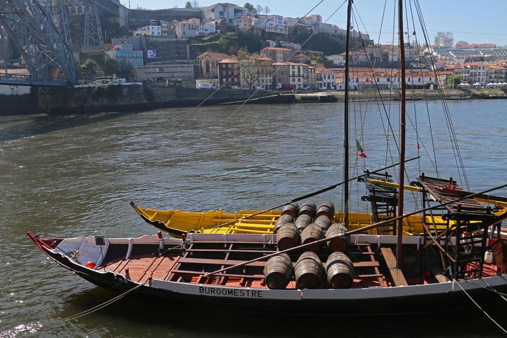 bateaux sur le douro