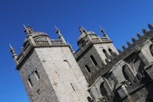 toits de la cathédrale de porto