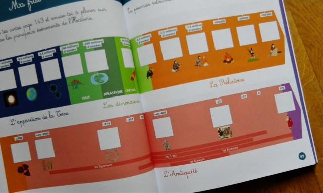 Montessori histoire du monde frise