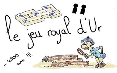 30 jours 30 jeux : le jeu royal d'Ur