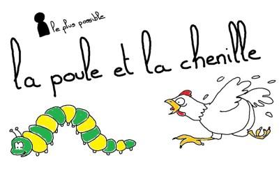 30 jours 30 jeux : la poule et la chenille d'Afrique du Nord