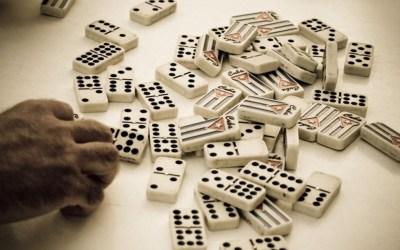 Réutiliser ses jeux de fond de placard : les dominos