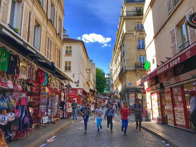 Jeux en ville dans Paris