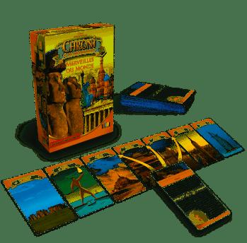 Jeu de chronologie sur les monuments