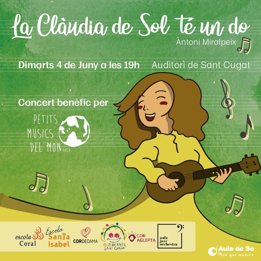 Concert benèfic de suport a Petits Músics del Món
