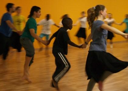 Construcció d'una aula de dansa