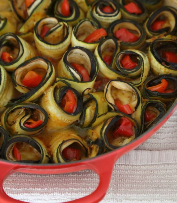 Spirals after baking