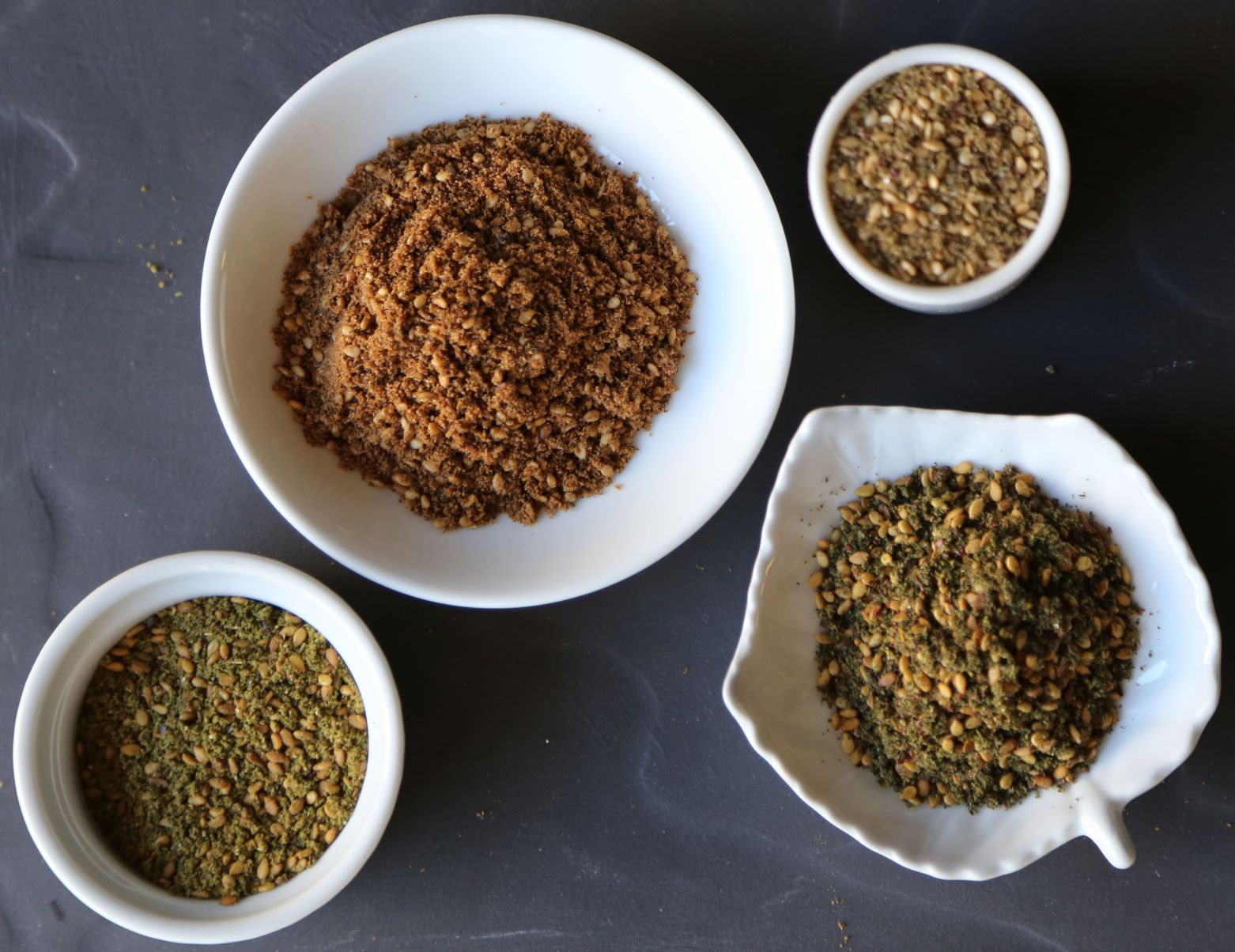Za'atar varies in color and flavor from country to country and family to family.