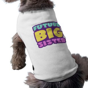 Big Sister Brother Pet Shirts