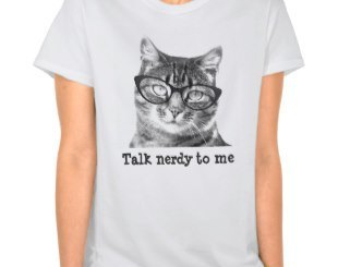 Cat With Glasses Shirt and Products