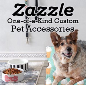 Zazzle one-of-a-kind custom pet accessories