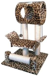 go-pet-club-leopard-cat-tree-condo-house