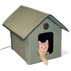 Kh Manufacturing Outdoor Heated Kitty House