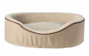 Top Paw Orthopedic Memory Foam Cuddler Dog Bed