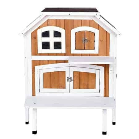 Trixie Pet Products Wooden Outdoor Cat Cottage