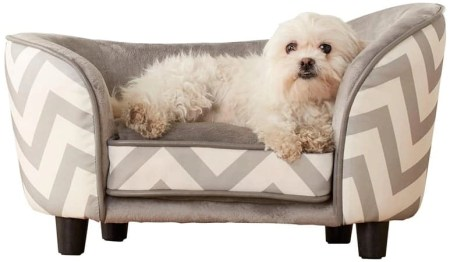 5 Enchanted Home Pet Snuggle Pet Sofa Bed
