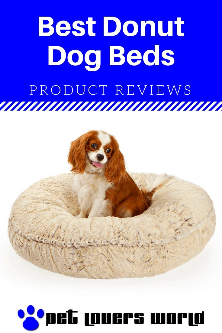 Best Large Donut Dog Bed Reviews Pinterest Image