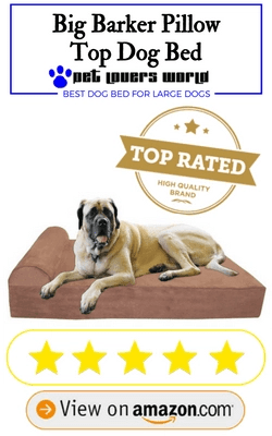 Big Barker 7 Pillow Top Orthopedic Dog Bed