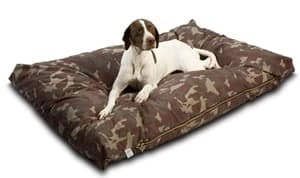 Snoozer Rectangular Pet Bed In Camouflage