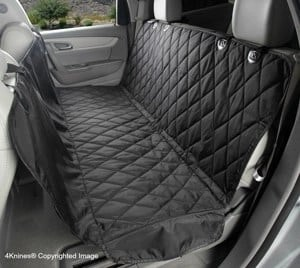 4Knines Rear Bench Seat Waterproof Non Slip Cover 2