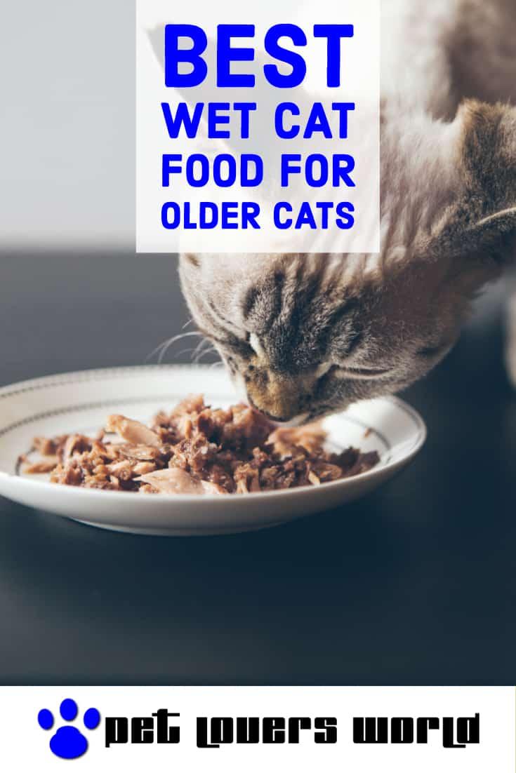 Best Wet Cat Food For Senior Cats Reviews Pinterest Image