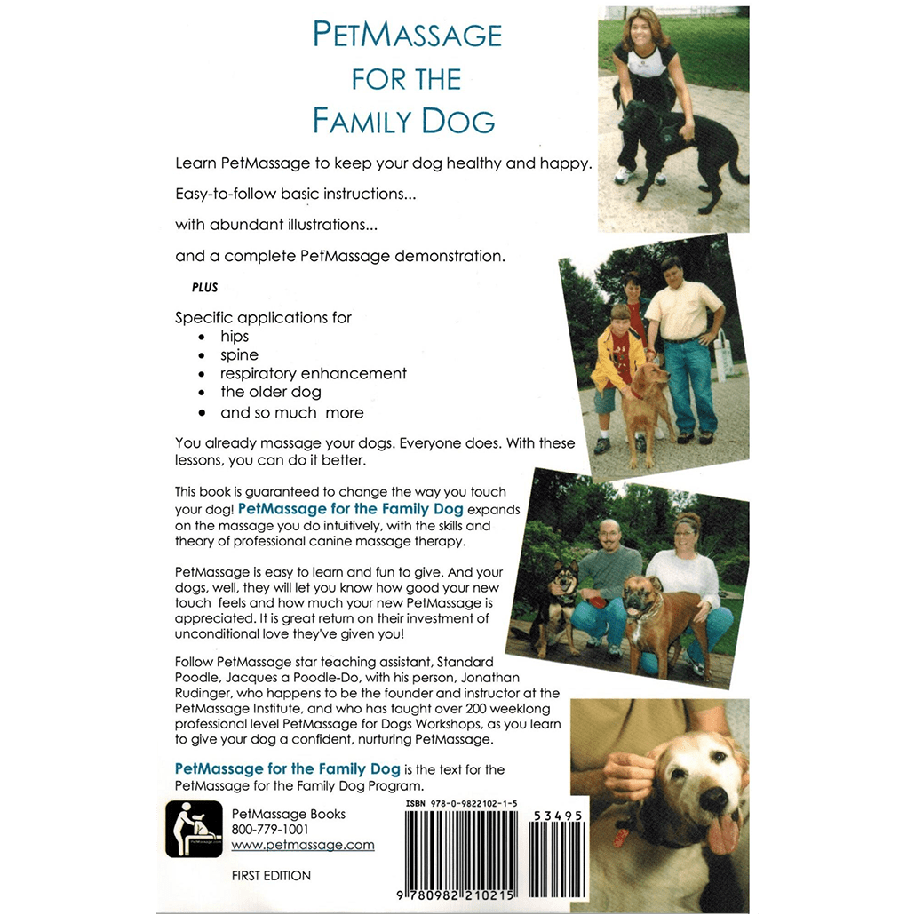 PetMassage™ for the Family Dog [Book] · PetMassage™ Training and ...