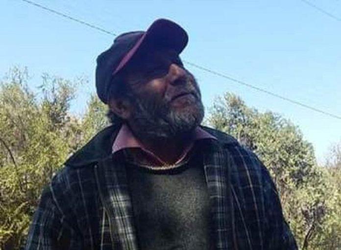 Agricultor Marco Cartagena López