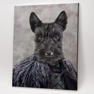 Game of Pets Portrait – King of the North