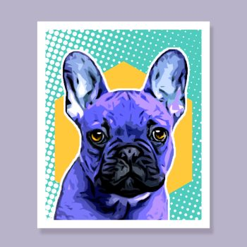 Custom pet portrait – Cartoon