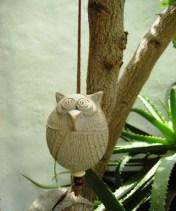 Uhu Deko zum Aufhängen # Búho Deco para colgar