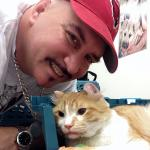 Freeway The Cat Officially Adopted by His Rescuer