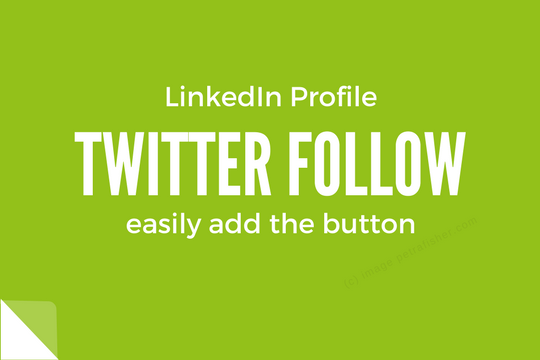 Mark my words: Connect Twitter to LinkedIn.