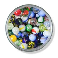 Marbles in Jar