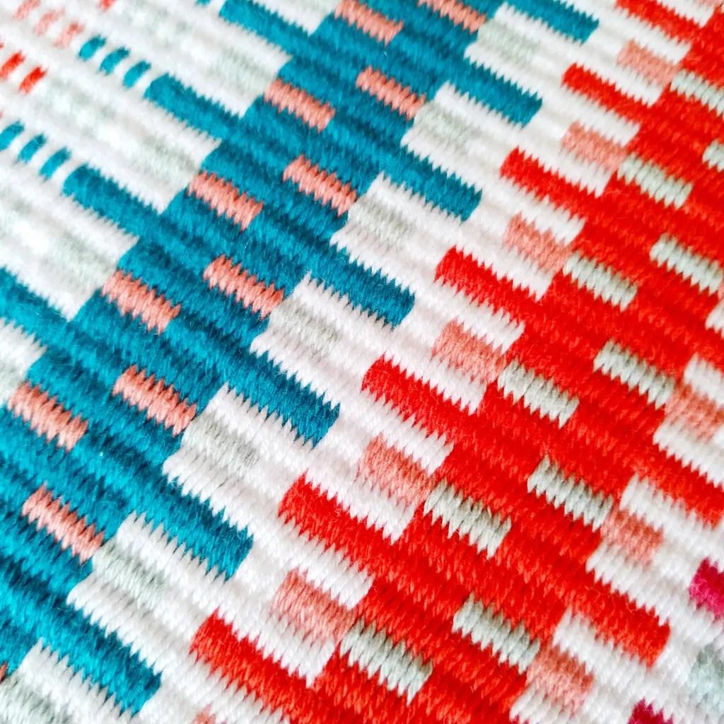 Krokbragd pattern combinations