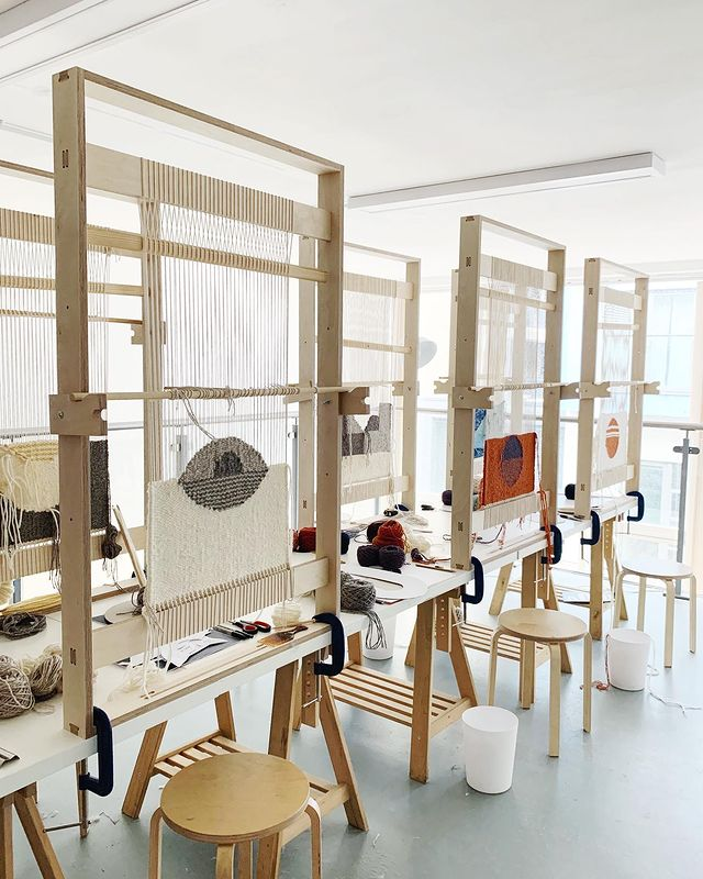 Frame Loom Tapestry Cours with Christabel Balfour