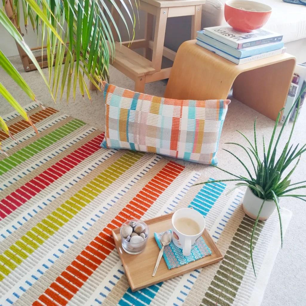 7 ways to make a rug_Handwoven rug_rugmaking_petramarciniaktextilles