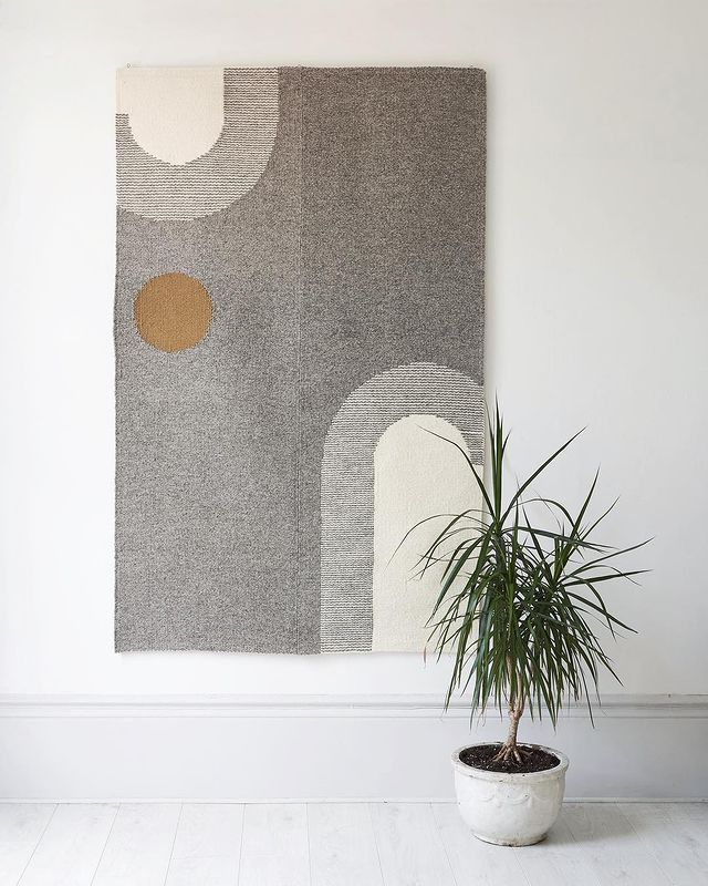 7 ways to make a rug_Tapestry rug_rugmaking_petramarciniaktextiles