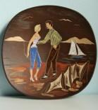 ES Keramik wall plate 1960