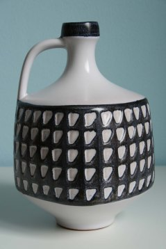 Wächtersbach jug vase design Karl Scheid