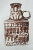 Bay vase, design Bodo Mans 1960s form number 71-17