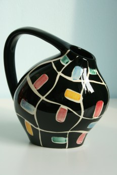 Schmider vase jug design by Annelliese Beckh 1955 form number 4045