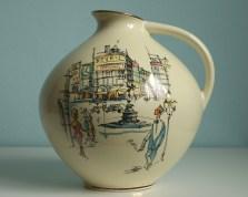 Wächtersbach jug vase 1950s